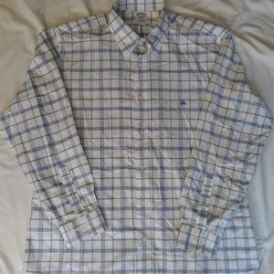Brooks Brothers Button Down Dress Shirt * Size XL
